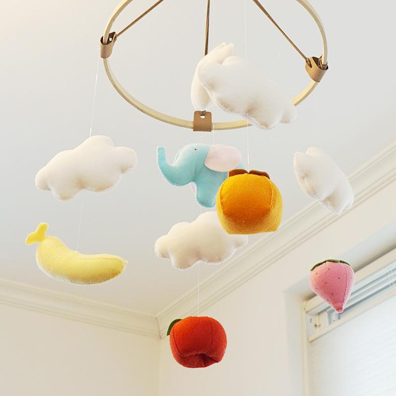 하늘을 나는 원숭이/코끼리 칼라모빌 만들기