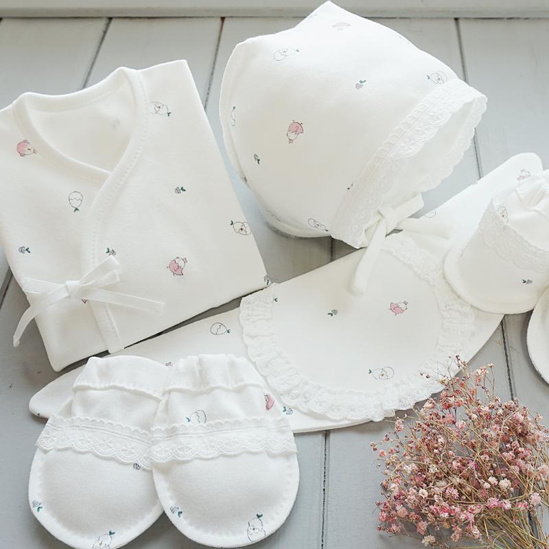 오가닉 병아리 배냇저고리만들기5종 태교바느질DIY세트(레이스/색상선택)