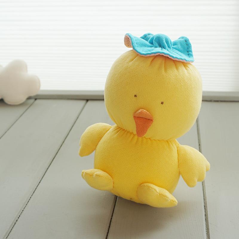 오가닉 아기 병아리 애착인형 만들기 태교바느질diy