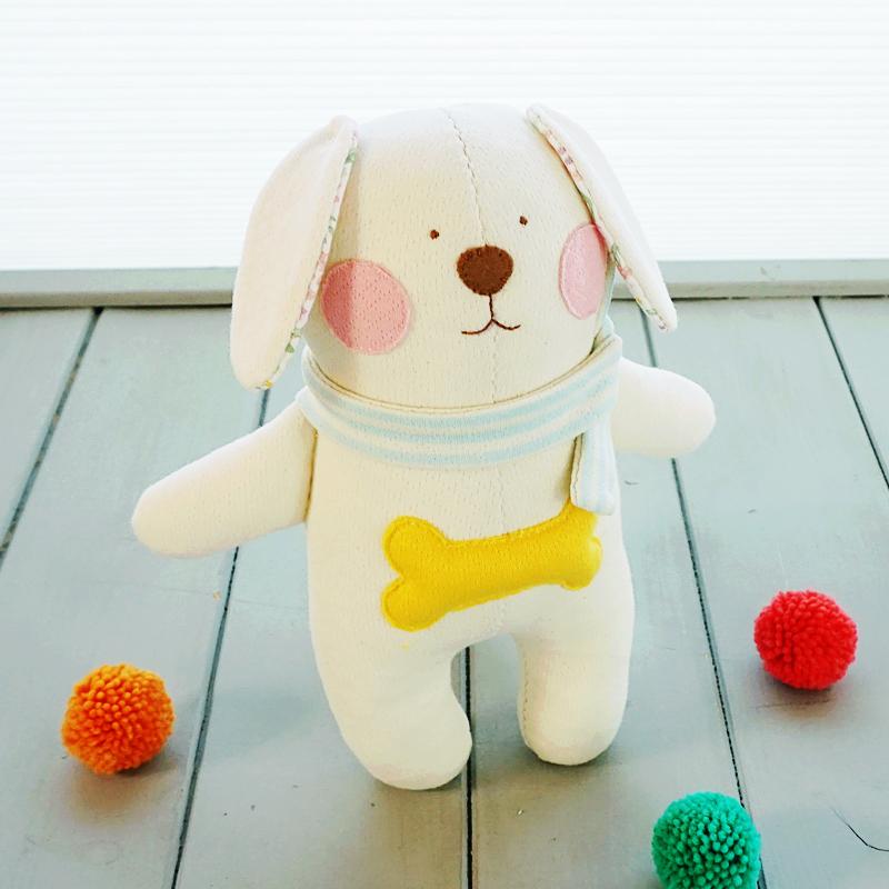 (개띠해) 오가닉 포그니 강아지 애착인형 만들기 태교바느질diy