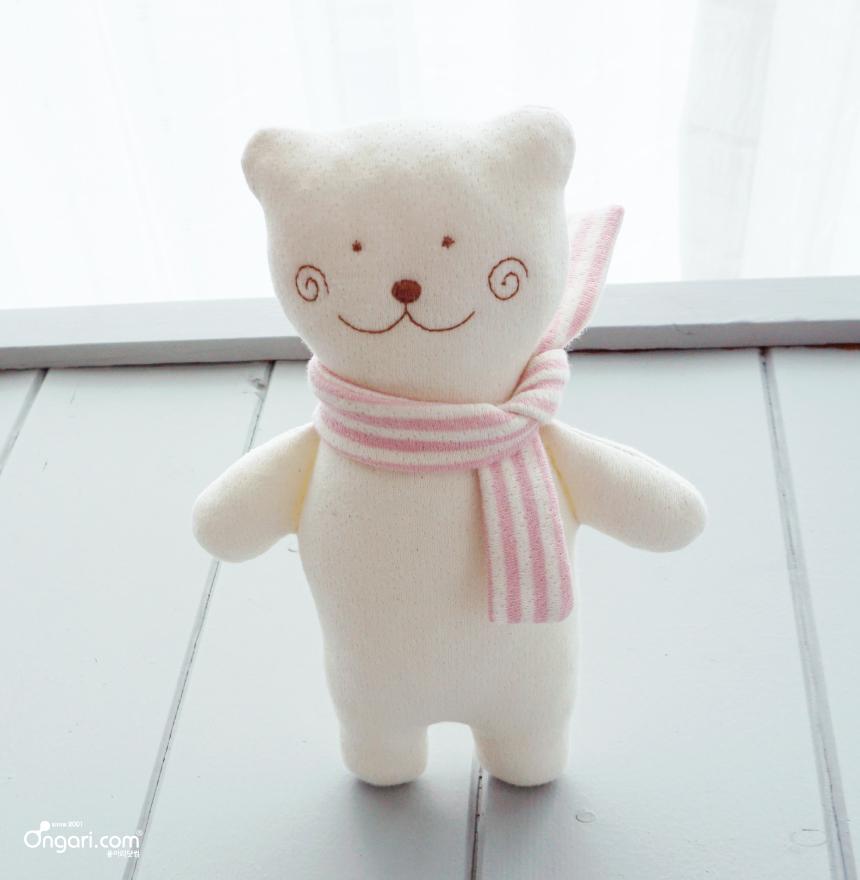 오가닉 미니 곰도리 애착인형 DIY 상세페이지