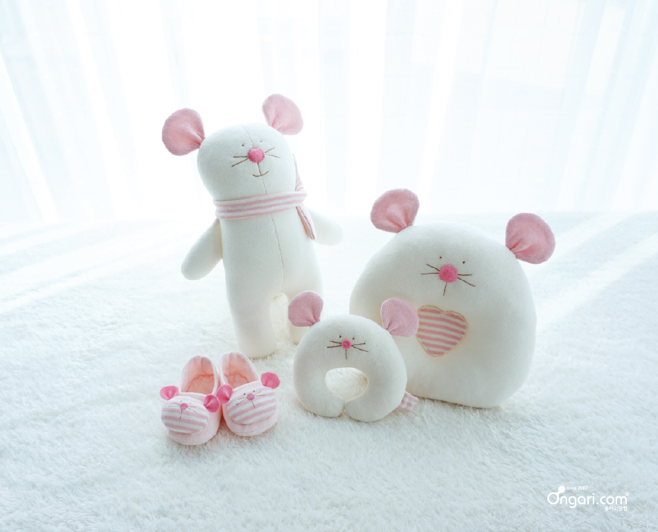 오가닉 쥐띠 마우스 애착인형 DIY - 단체사진