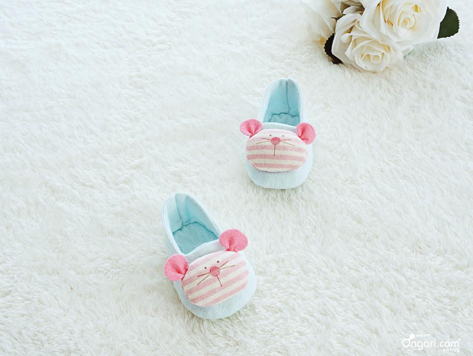 오가닉 쥐띠 마우스 아기신발 DIY 상세페이지