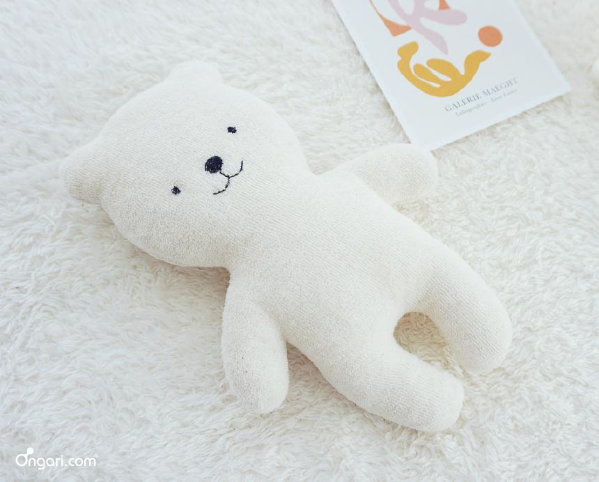 오가닉 테리 아기곰 애착인형 DIY 상세페이지